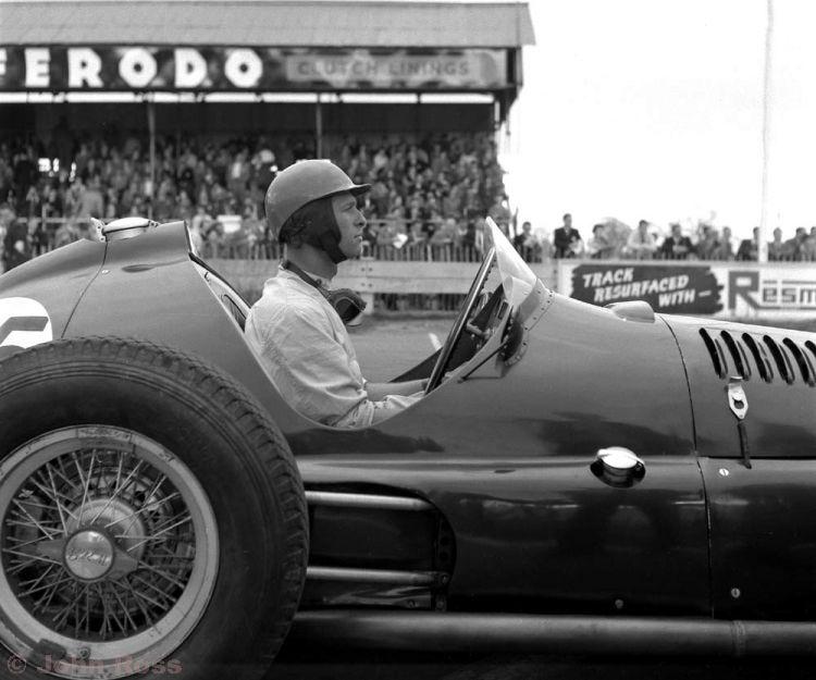 The John Ross Motor Racing Archive - RA 768 - Peter Collins